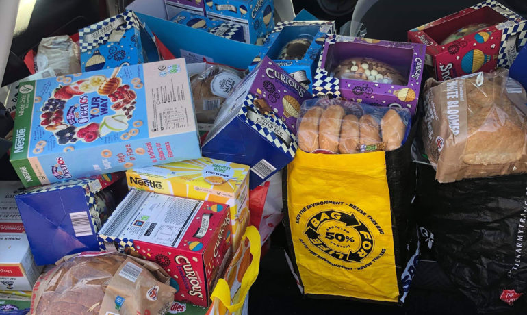 Foodbank Support from Aldi