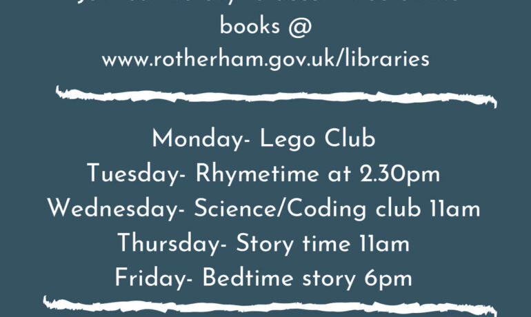 Rotherham Library Service Update