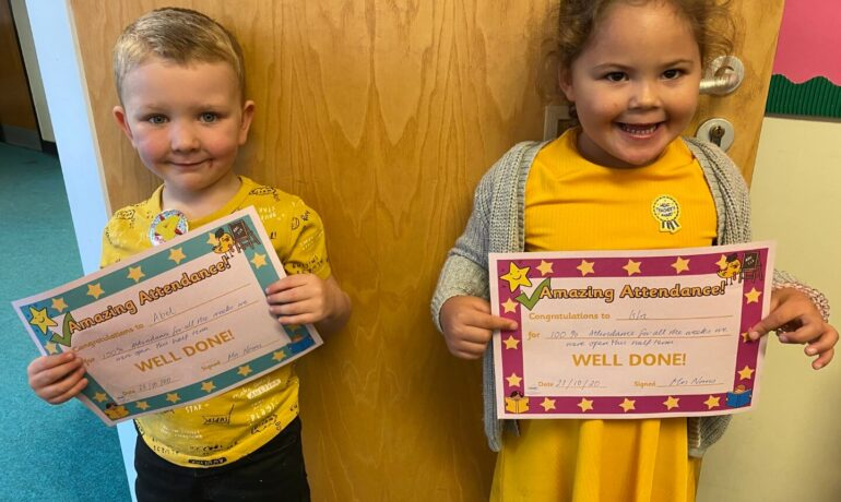 Excellent Certificate Winners!