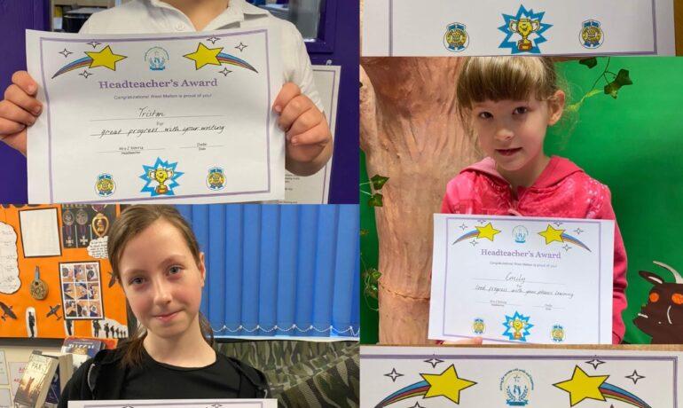Headteacher Certificate Winners