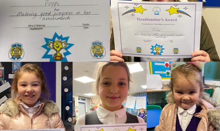 Headteacher's Awards 🏅