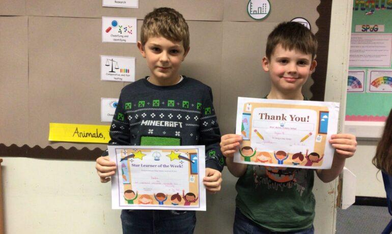 Certificate Winners 📜