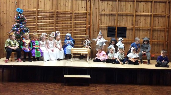 Virtual Nativity Filming