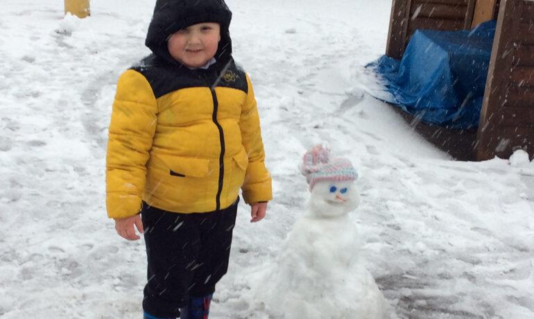 Fun in the Snow! ❄⛄